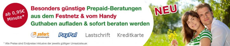 Kartenleger Online prepaid banner